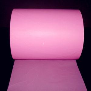 Pink PE (polyethylene) Film for Sanitary Napkin Wrap pictures & photos