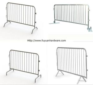 Heavy Duty Galvanized Metal Traffic Barrier Stand Crowd Control pictures & photos