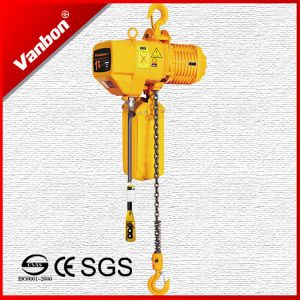 1ton Fixed Type Electric Chain Hoist pictures & photos