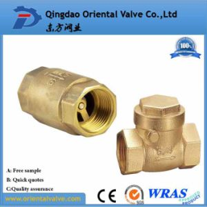 Professional Making Ss Spring Europe Standard Brass Non Return Check Valve with Barss Core pictures & photos