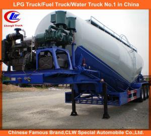 Heavy Duty 55000 Liters V-Type Bulk Cement Tanker Semi Trailer pictures & photos