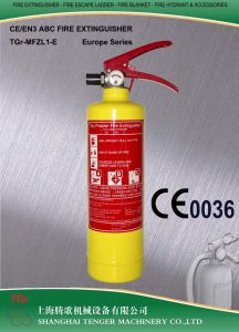 1kg ABC Dry Powder Fire Extinguisher (Blue/Yellow) -CE Approved pictures & photos