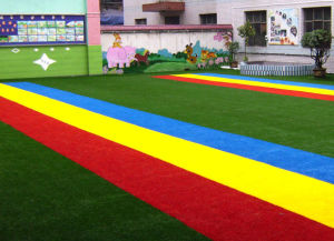 30mm Multicolor Artificial Turf with Best Price pictures & photos