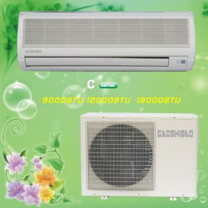 LCD Display Split Type Air Conditioner, Wall Mount Air Conditioner