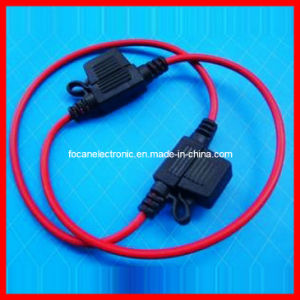 Mini Car Fuse Holder with Wire Leads (FC-16237) pictures & photos
