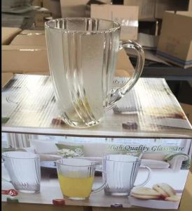 High Quality Glass Mug with Good Price Coffee Mug Kb-J0008 pictures & photos
