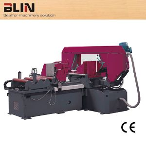 Full Automatic Horizontal Nc Control Rotary Table Band Saw (BL-HS-J44RN) pictures & photos