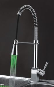 LED Kitchen Mixer, Power by Water Pressure