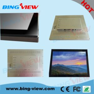 "18.5""Queueing System Kiosk Interactive Touch Monitor Screen"