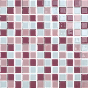 Swimming Pool Blue Mix Color Crystal Glass Mosaic (G423009) pictures & photos