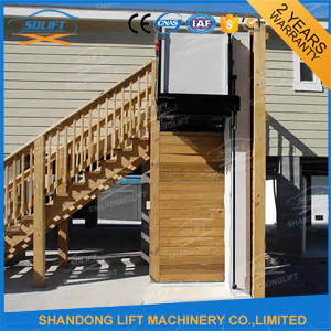 250kg Portable Home Hydraulic Outdoor Lift pictures & photos