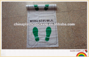 PE Plastic Car Foot Mat for Keep Car Clean