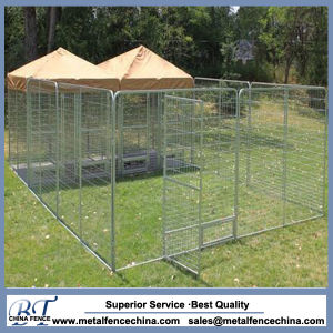 Heavy Duty Hot DIP Galvanized Steel Dog Kennel pictures & photos