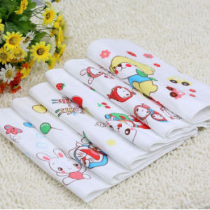100% Cotton Honeycomb/Gauze Towel pictures & photos