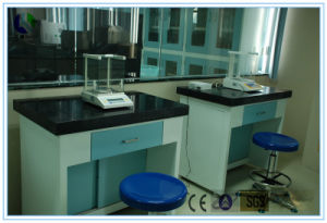 SGS Certified Analytical Lab Steel Marble Balance Tables (HL-T002) pictures & photos