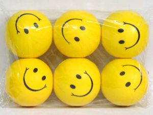 3.5 Inch PU Ball with Smiling Printing (10112737) pictures & photos