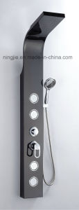 Factory Price Black Titanizing Shower Panel Nj-9873 pictures & photos