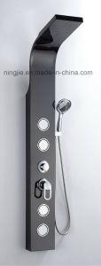 Factory Price Black Titanizing Shower Panel Nj-9873 pictures & photos