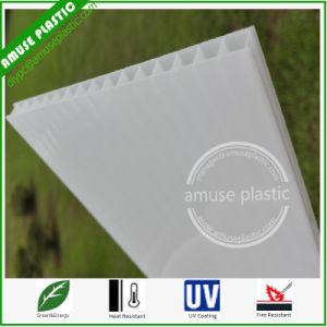 White Building Material Plastic Roof Board Polycarbonate PC Hollow Sheet pictures & photos