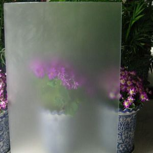 Office Glass /Acid Etched Glass /Frosted Patterned Tempered Glass pictures & photos