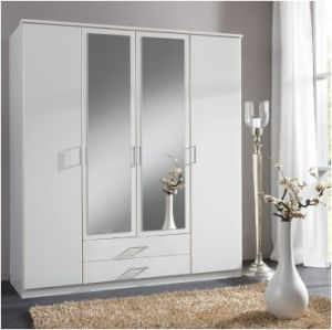 Home Furniture with Glass Wardrobe pictures & photos