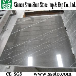 Shakespeare Gray Polished Marble Tile for Flooring pictures & photos