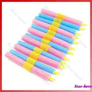 12PCS/Set Soft Foam Anion Bendy Hair Rollers Curlers pictures & photos