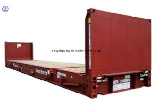 Consolidate Plat Form Based Container for Shipment to Worldwide Shipping pictures & photos