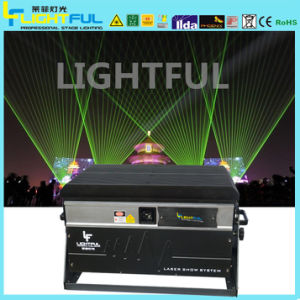 10W Green Outdoor Laser Lighting Show