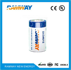 3.9V 18ah Lithium Battery for GPS Monitoring Products with Ce SGS MSDS Recognised (DX34615) pictures & photos
