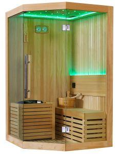 Monalisa 1.5 Meter Square Special Design Dry Sauna Room (M-6039) pictures & photos