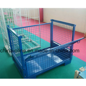 Heavy Loading Metal Wire Mesh Storage Container pictures & photos