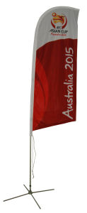 Outdoor Banner Flag Display Advertising Flag pictures & photos