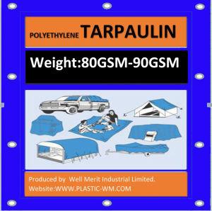 80GSM-90GSM Lightweight Waterproof Cover Tarpaulin pictures & photos