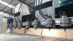 1313-5 Yaskawa Servo Motor, PMI Guid Rail, Multi-Spindle Wood CNC Router pictures & photos