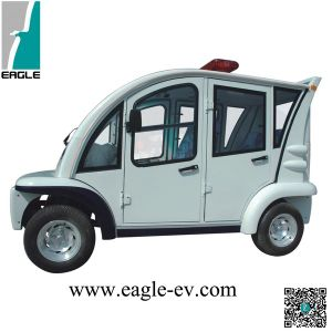 Electric Four Seats Passenger Carrier, People Mover with Hard Door pictures & photos