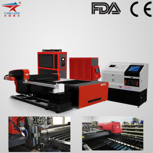 Metal Pipe Laser Cutting Machine for Carbon Steel Sheet (TQL-LCY620-GB3015) pictures & photos