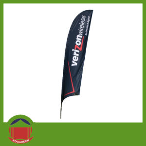 Outdoor Cheap Custom Vertical Wind Beach Advertising Flags pictures & photos