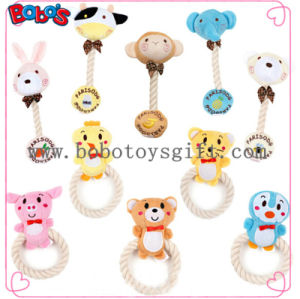 Wholesale Squeaky Cotton Rope Plush Animal Shape Pet Toy for Dog Cat Bosw1065/15cm pictures & photos