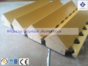 Triangle Model Sound Control Wooden Acoustic Diffuser Panel (TMGP25mm) pictures & photos