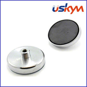 Holding Magnetic Pot Ferrite Pot Magnet (P-006) pictures & photos