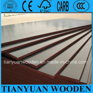 21mm Poplar Film Faced Plywood/Construction Plywood for Formwork/Laminated Board pictures & photos