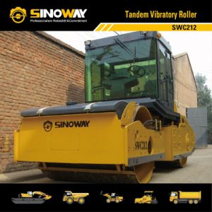 Tandem Vibratory Road Roller (SWC212) pictures & photos