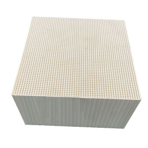 Ceramic Honeycomb Substrate Honeycomb Catalyst Carrier for Industrial From China pictures & photos