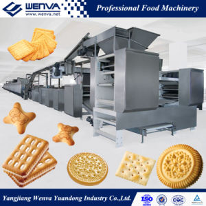 Wenva Full Automatic Biscuit Plant Production Line pictures & photos