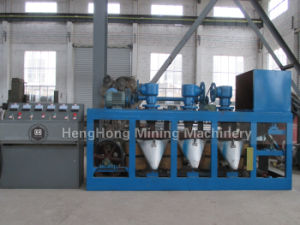 Three Disc Dry Type Magnetic Separator with High Intensity pictures & photos