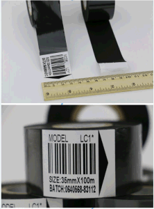 Hot Stamping Barcode Ribbon Coding Foil pictures & photos