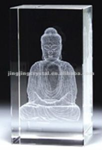 Crystal 3D Laser Fengshui (JD-ND-112) pictures & photos