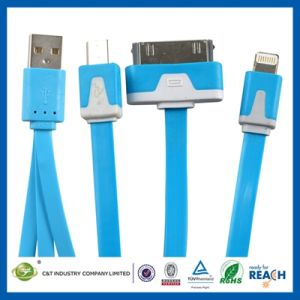 2m 6ft Flat Data Sync Charging Micro USB Cable pictures & photos