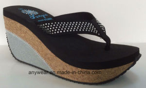 Flip Flop Ladies Footwear Women Fashion Slippers (515-6904) pictures & photos
